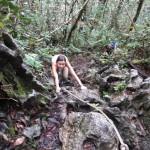 Anstrengender Aufstieg zu den Pinnacles auf Borneo