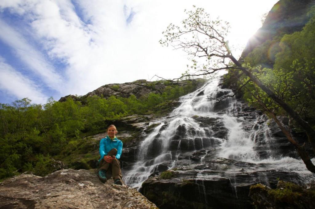 Ann Steal Waterfall - auch für nicht Harry Potter Fans eine lohnenswerte Wanderung