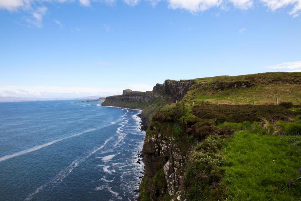 Die Steilklippen der Isle of Skye: Nichts für Menschen mit Höhenangst!