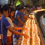 Lichterfest in der Shwedagon Pagode