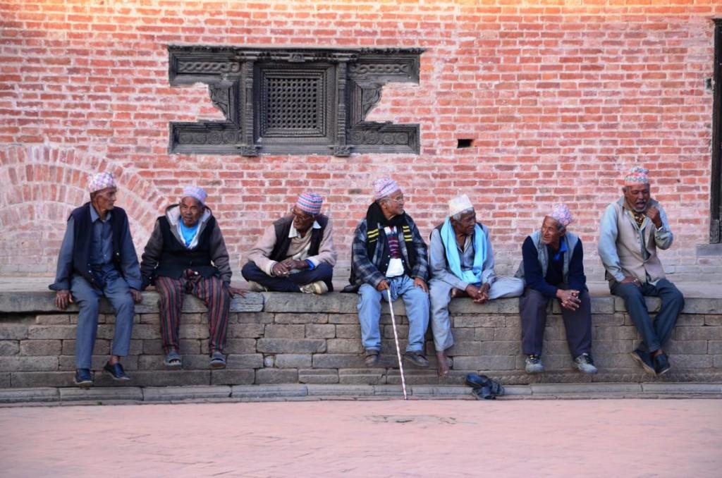 Nepalesen in Bhaktapur: Gastfreundschaft ohne Grenzen!