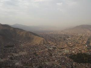Die Hauptstadt Lima: Oft unterschätzt findet Ariane! © Ariane - heldenwetter.de