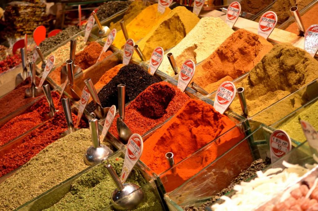Geschmacksexplosion: Gewürzvielfalt in Indien.
