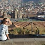 Blick auf den Plaza de Armas in Cusco.