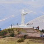 Cristo Blanco hoch über den Dächern von Cusco.
