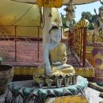 Reisetipp Bago: Die vier sitzende Buddhas von Kyaikpun.