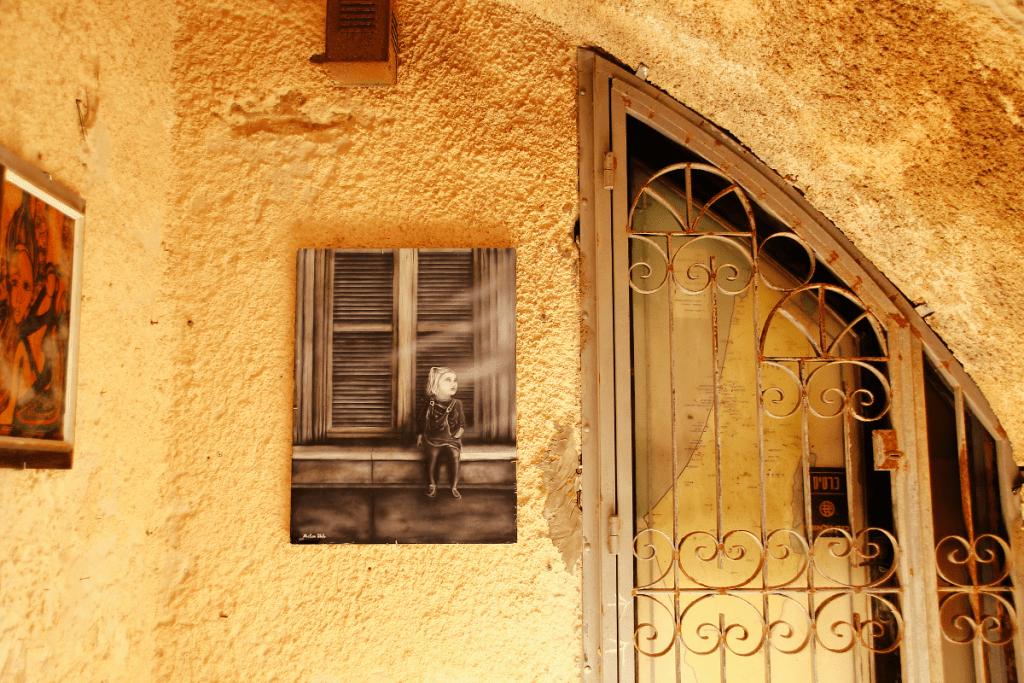 Israel Reisetipps: Street Art in Jaffa © www.helleflecken.com