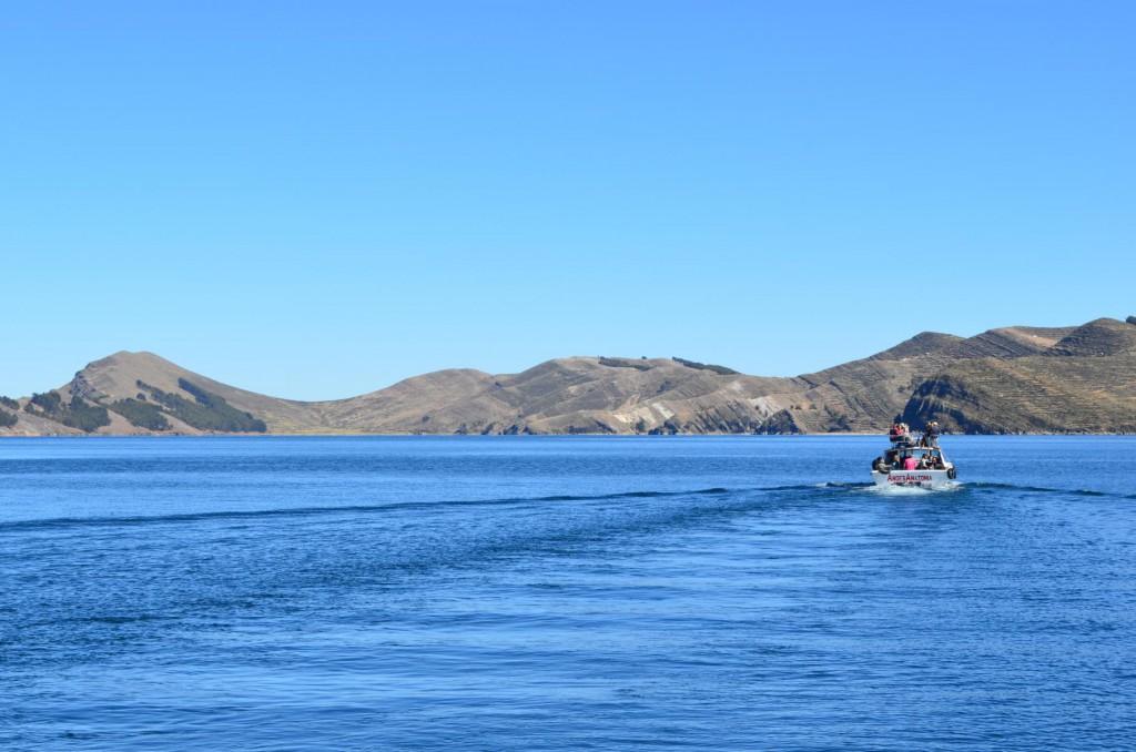 Von Copacabana zur Isla del Sol: Die Fähren verkehren täglich.