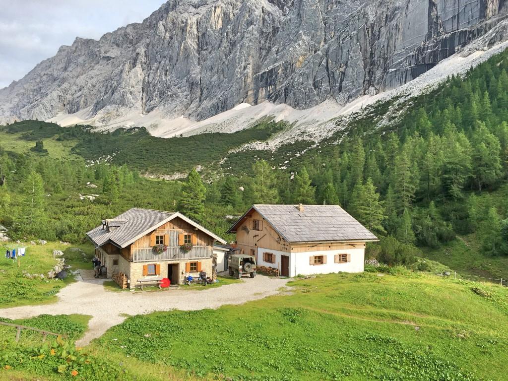 Heimat in den Bergen - zumindest für ein Wochenende