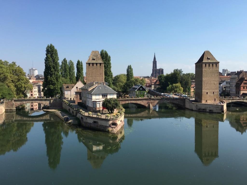 1 Tag in Straßburg: Aussicht vom Vauban-Wehr