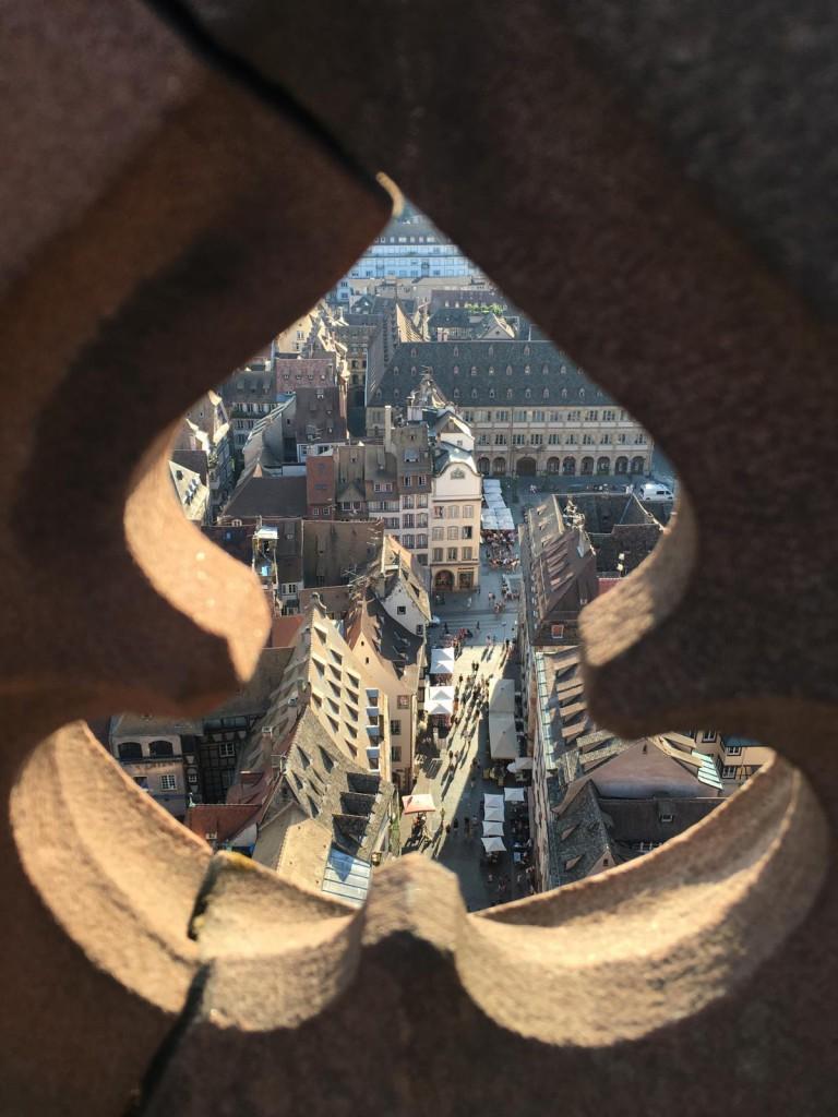 1 Tag in Straßburg: Ausssicht vom Münster
