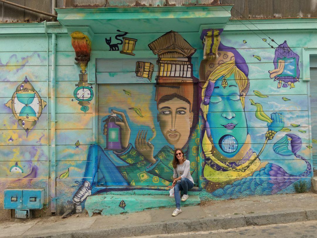 Street Art Paradies in Chile: Valparaíso