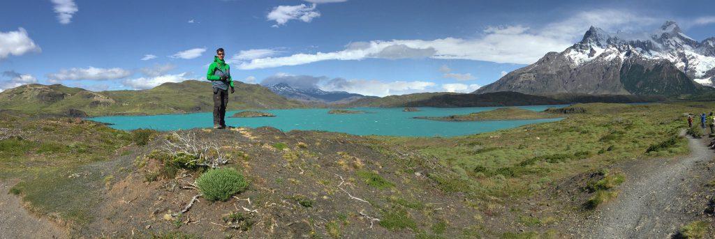 Türkisblaues Gletscherwasser: Wasserversorgungsprobleme gibt es im Torres del Paine Nationalpark nie!