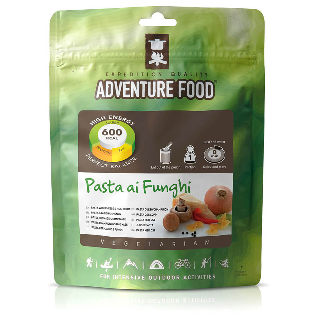 Outdoor-Nahrung im Test: Adventure Food