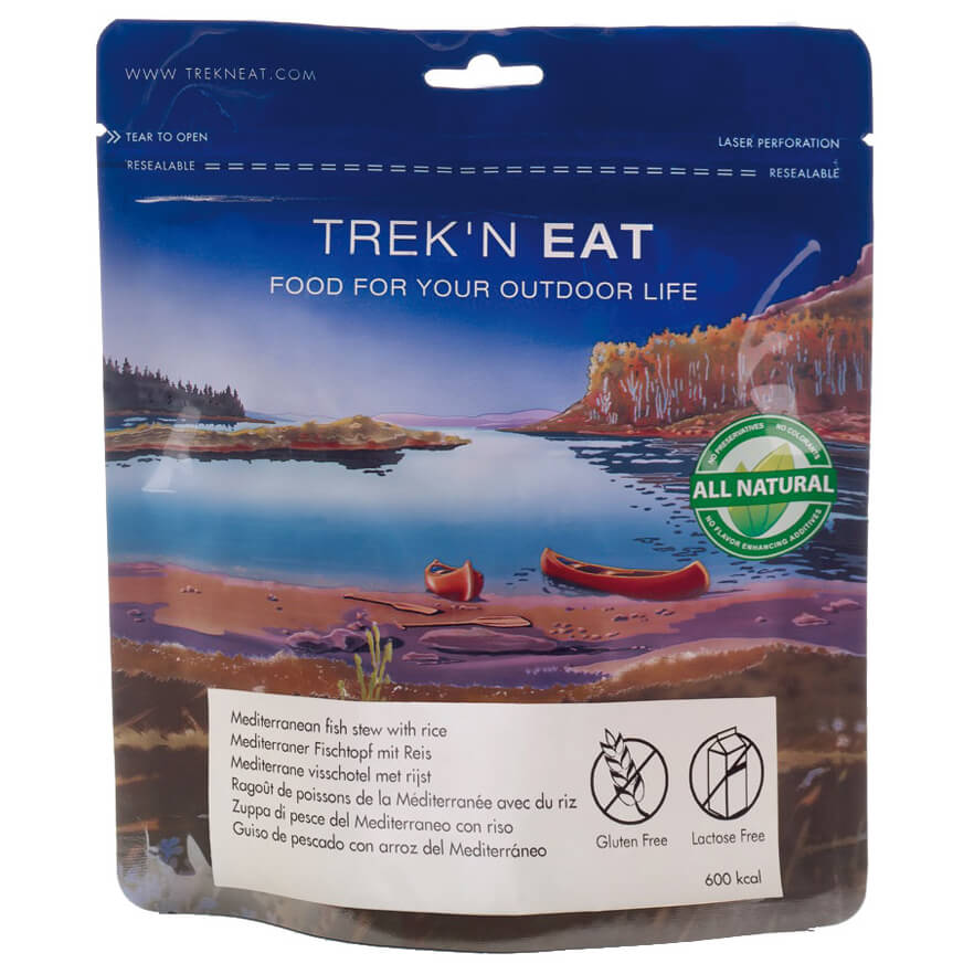 Outdoor-Nahrung im Test: Trek'n Eat