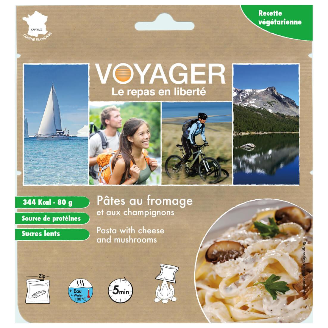 Outdoor-Nahrung im Test: Voyager