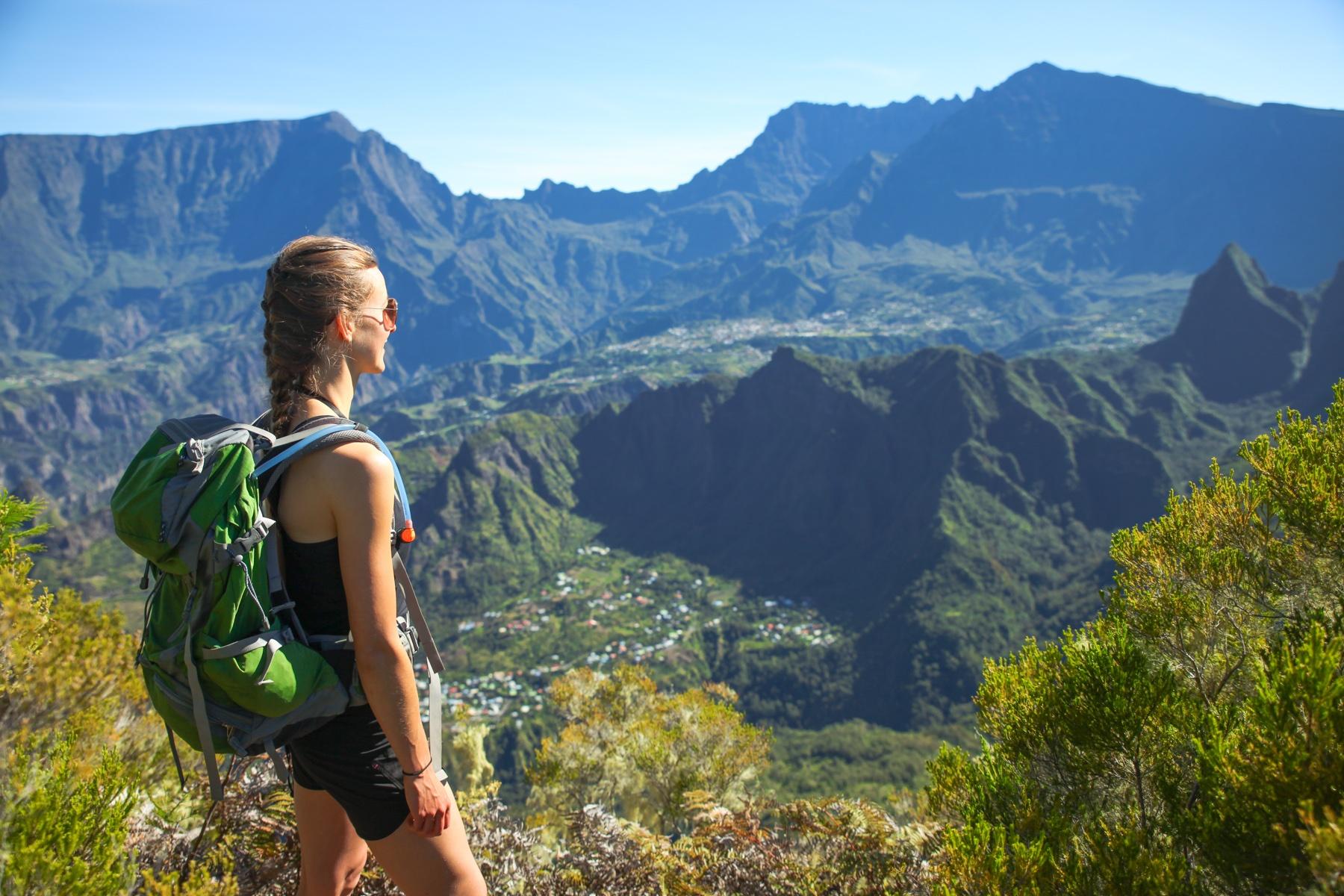 Panorama Blicke die sprachlos machen: Wanderrouten gibt es auf La Réunion zu genüge!