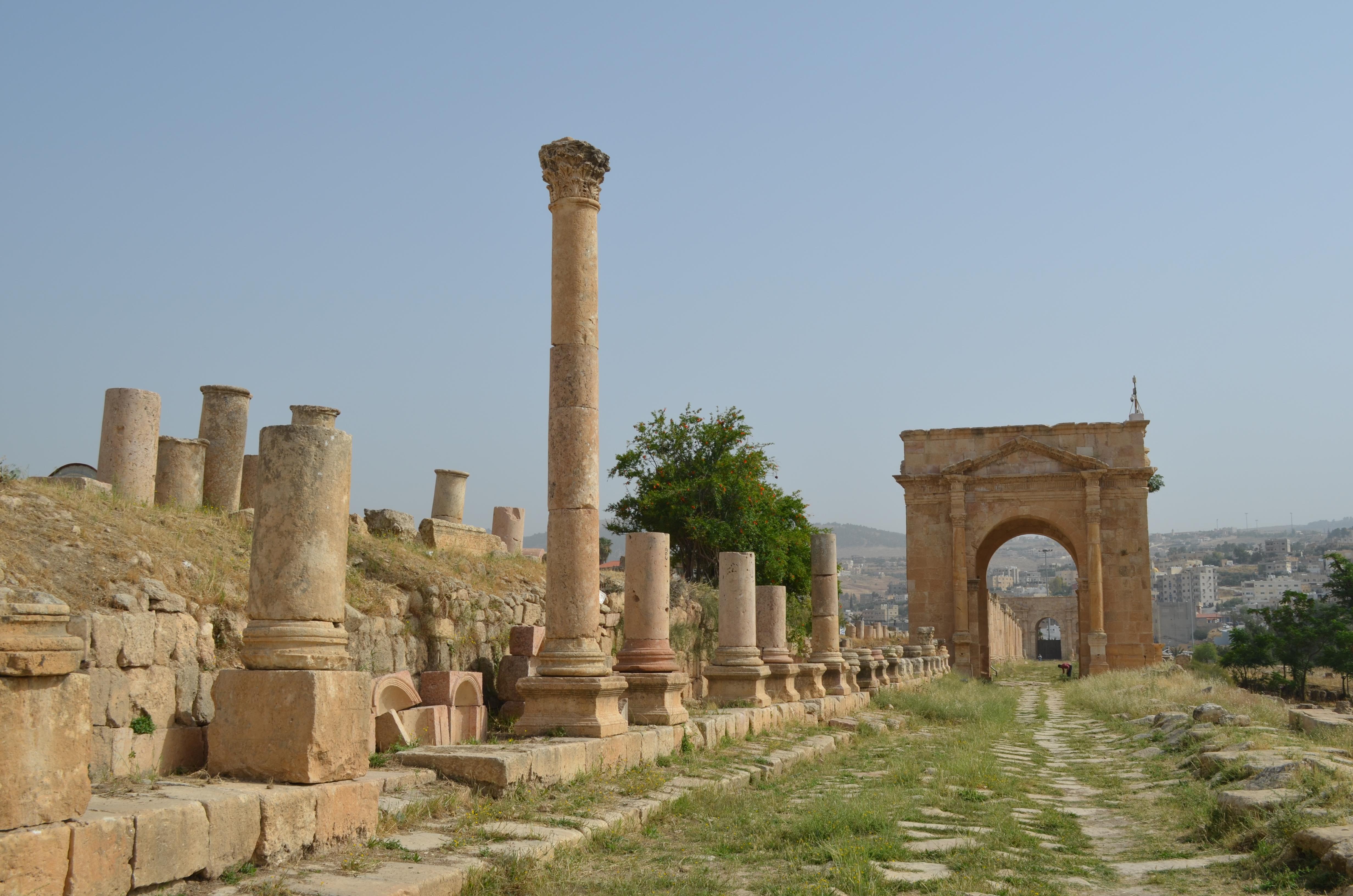 Roadtrip durch Jordanien: Die Ruinen von Jerash.