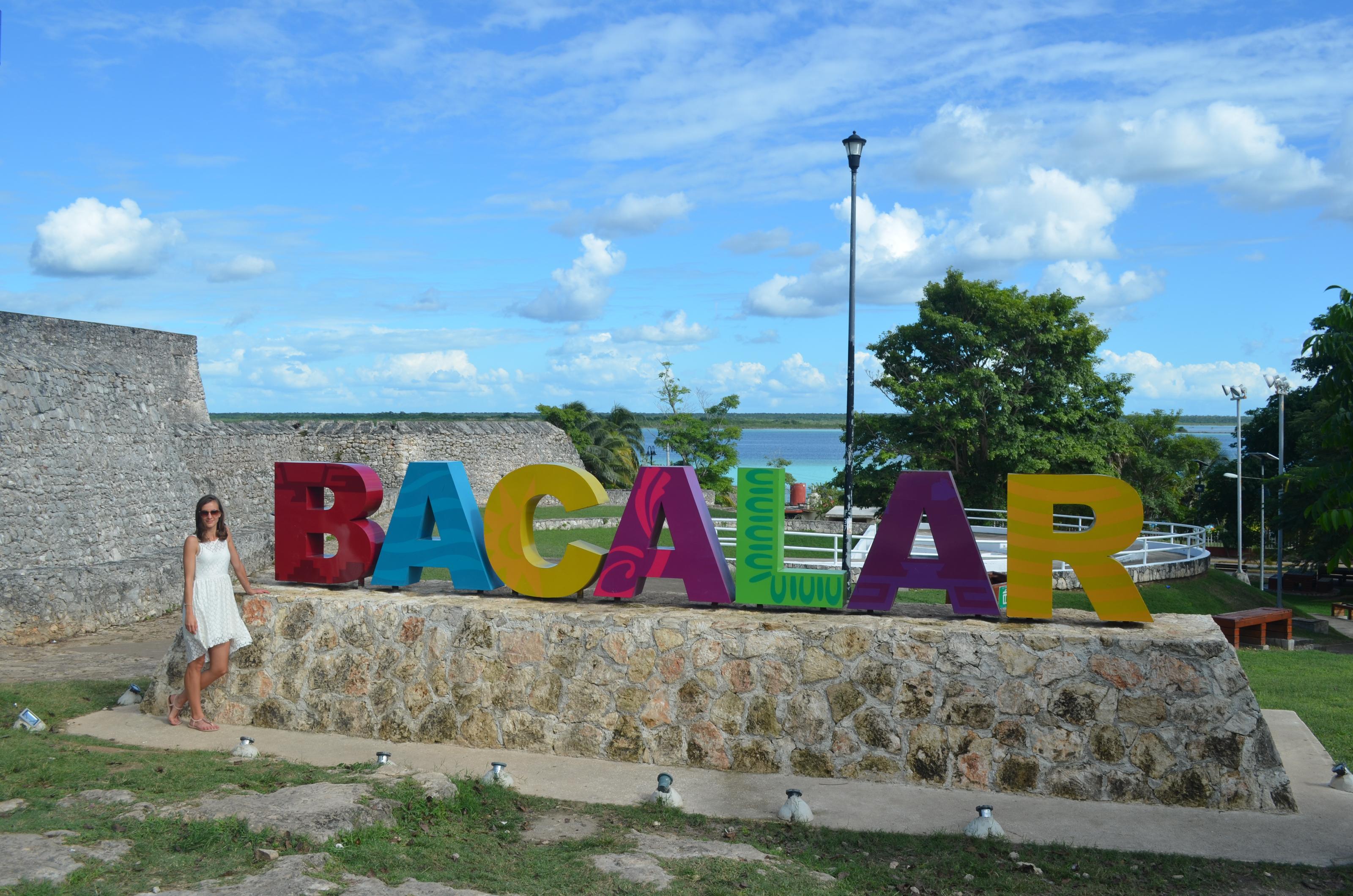 Bacalar ist ein kleines, verschlafenes Örtchen direkt an der berühmten Laguna Bacalar.
