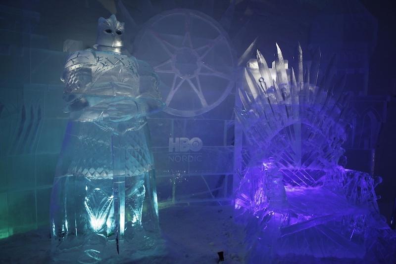 """Jedes Jahr trägt das Snow Village ein anderes Motto, zum Beispiel """"Game of Thrones""""."""