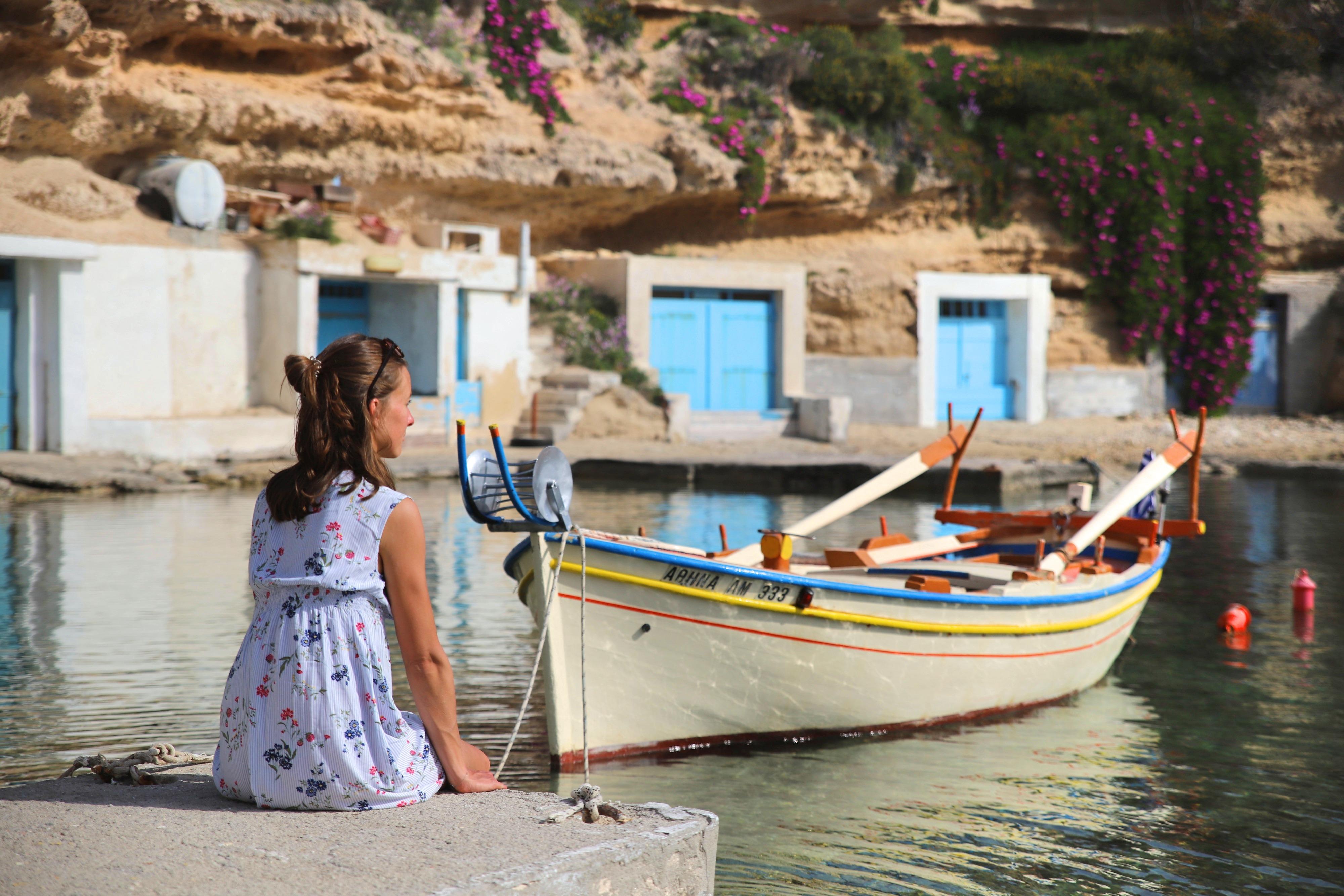 Herrlich idyllisch und wenige Touristen: Milos ist wirklich die Perle der Kykladen!