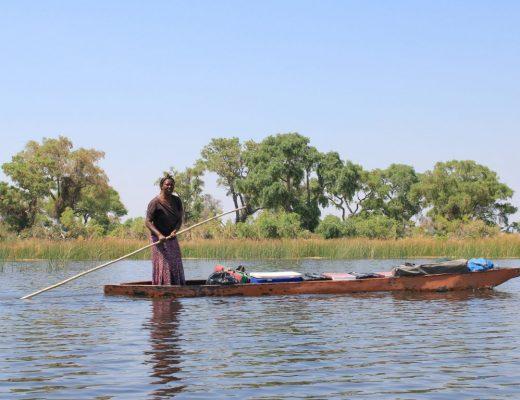 Das Okavango Delta in Botswana